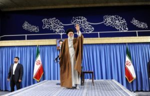 Iran leader denounces 'unworthy' election rhetoric in veiled swipe at Rouhani
