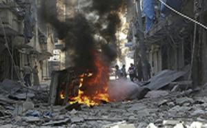 Car bomb hits camp for displaced Syrians near Jordan border – monitor