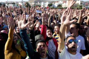 Thousands rally in north Morocco protest march