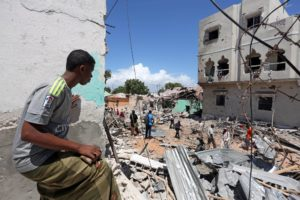 Three Somali soldiers die trying to defuse car bomb – police