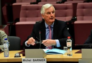 EU's Barnier warns Britain no such thing as 'frictionless' trade