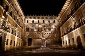Monte Paschi says plan sees net profit at more than 1.2 billion euros in 2021