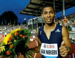 Athletics – South African Van Niekerk wins on international return