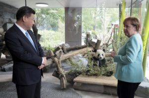 Chinese president presents 2 giant pandas to Berlin zoo