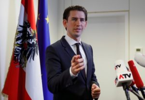 Austria's likely next chancellor hopes to form govt. in 60 days: paper
