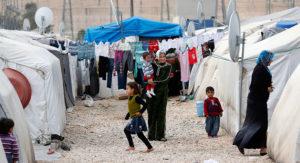 War-weary Syrians seek respite at camp on Turkey border